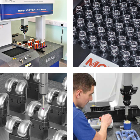 Precision measurement for exacting quality standards.